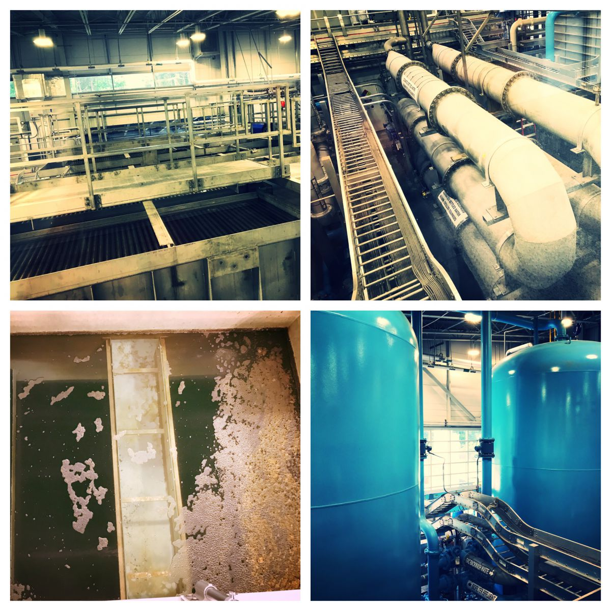 Advanced water treatment facility for indirect potable water reuse